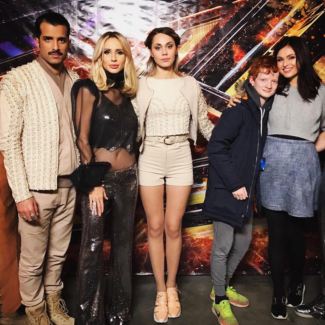 Звездные гости «Х-фактора-7»: Loboda, Софи Эллис-Бекстор и группа Kadebostany