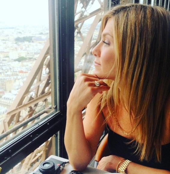 Любимая в Париже: Джастин Теру опубликовал романтичный снимок Дженнифер Энистон