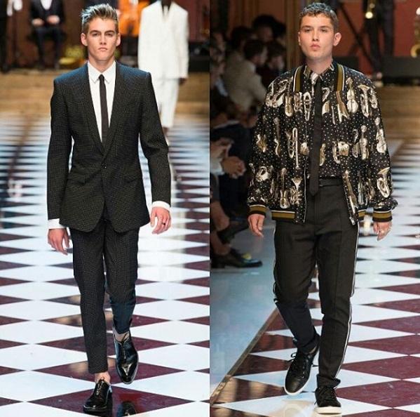 Модный дебют: сын Джуда Лоу впервые вышел на подиум