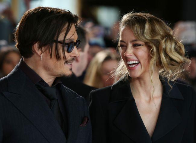 СМИ: Свадьба Джонни Деппа и Эмбер Херд состоится в следующие выходные!