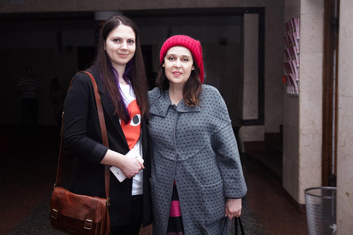 Старший редактор Viva.ua Людмила Грицфельдт и главный редактор журнала Viva! Иванна Слабошпицкая