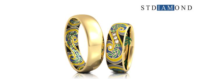 Обручальные кольца STDIAMOND