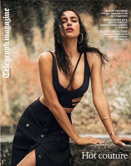 Знойная красавица Ирина Шейк украсила обложку Telegraph Magazine