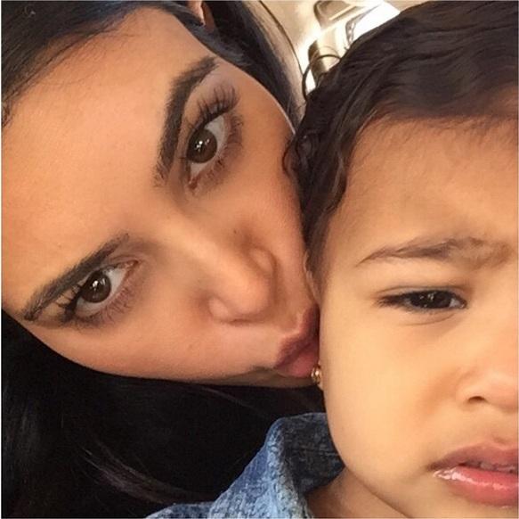 Мамина радость: Ким Кардашьян показала повзрослевшую дочь