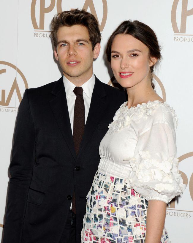 Очаровательная и беременная Кира Найтли на красной дорожке
