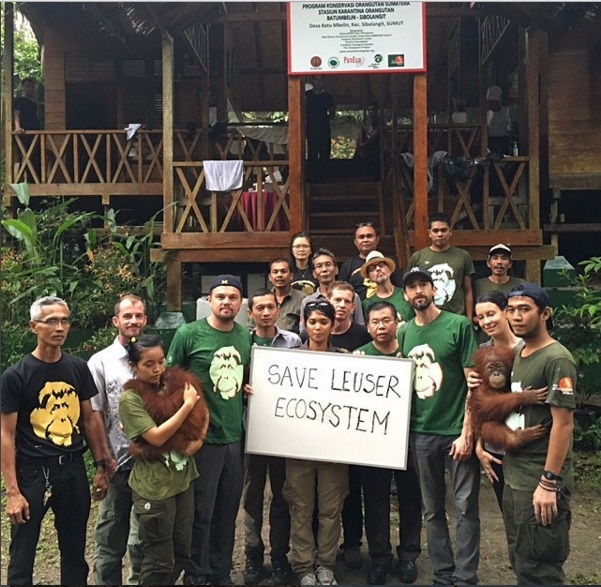 Увлекательный отдых: Леонардо ДиКаприо путешествует по Индонезии