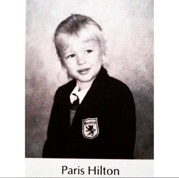 Маленькая принцесса: Пэрис Хилтон показала свои детские фото