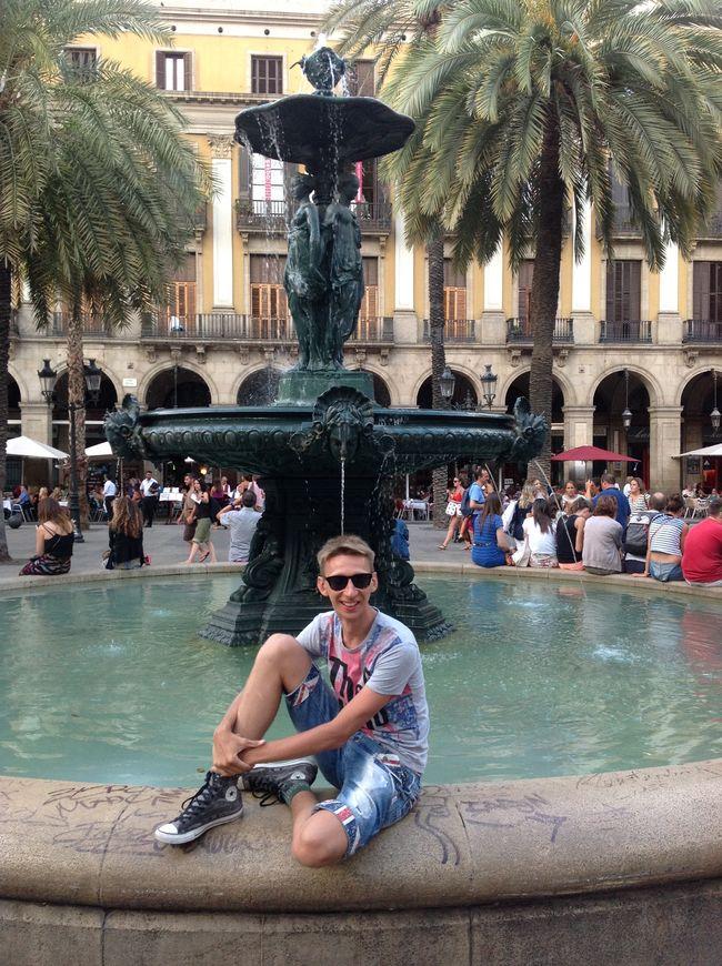 Слава Соломка на отдыхе в Испании