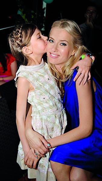 Ольга Горбачева с дочерью Полиной