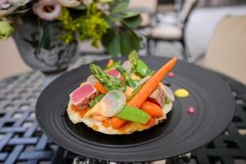 Виртуозный шеф-повар отеля InterContinental Kiev презентовал новое летнее меню