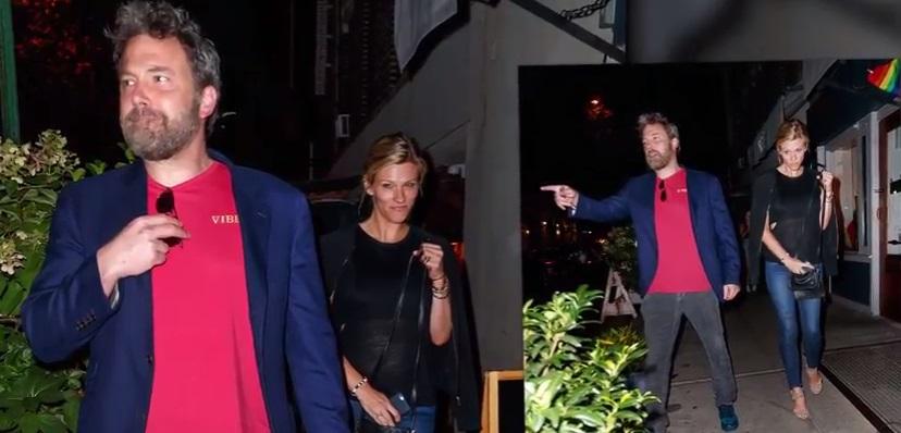 Они все же вместе: Бен Аффлек был замечен с новой возлюбленной Линдсэй Шукус