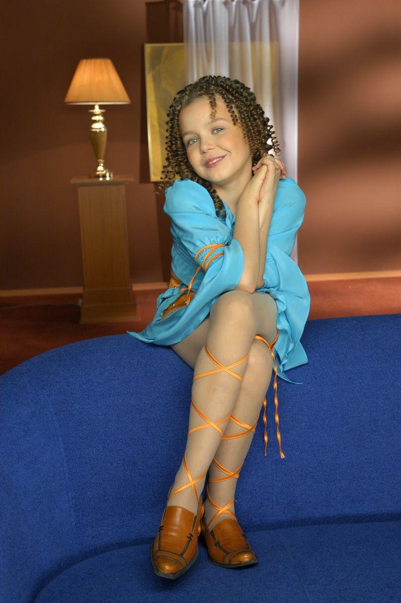 Алина Гросу в детстве фото