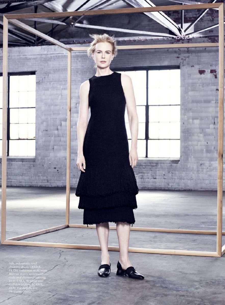 Николь Кидман демонстрирует красоту на страницах глянца