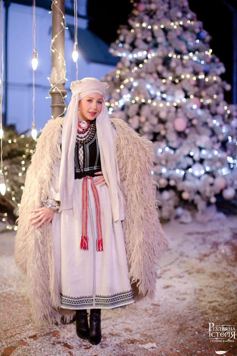 Тина Кароль сыграла главную роль в рождественском фильме
