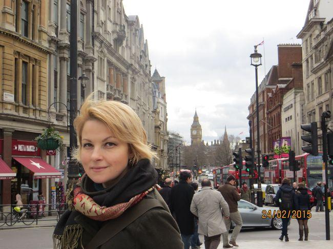 Мария Бурмака побывала в Лондоне и собрала 10 000 фунтов для украинских военных