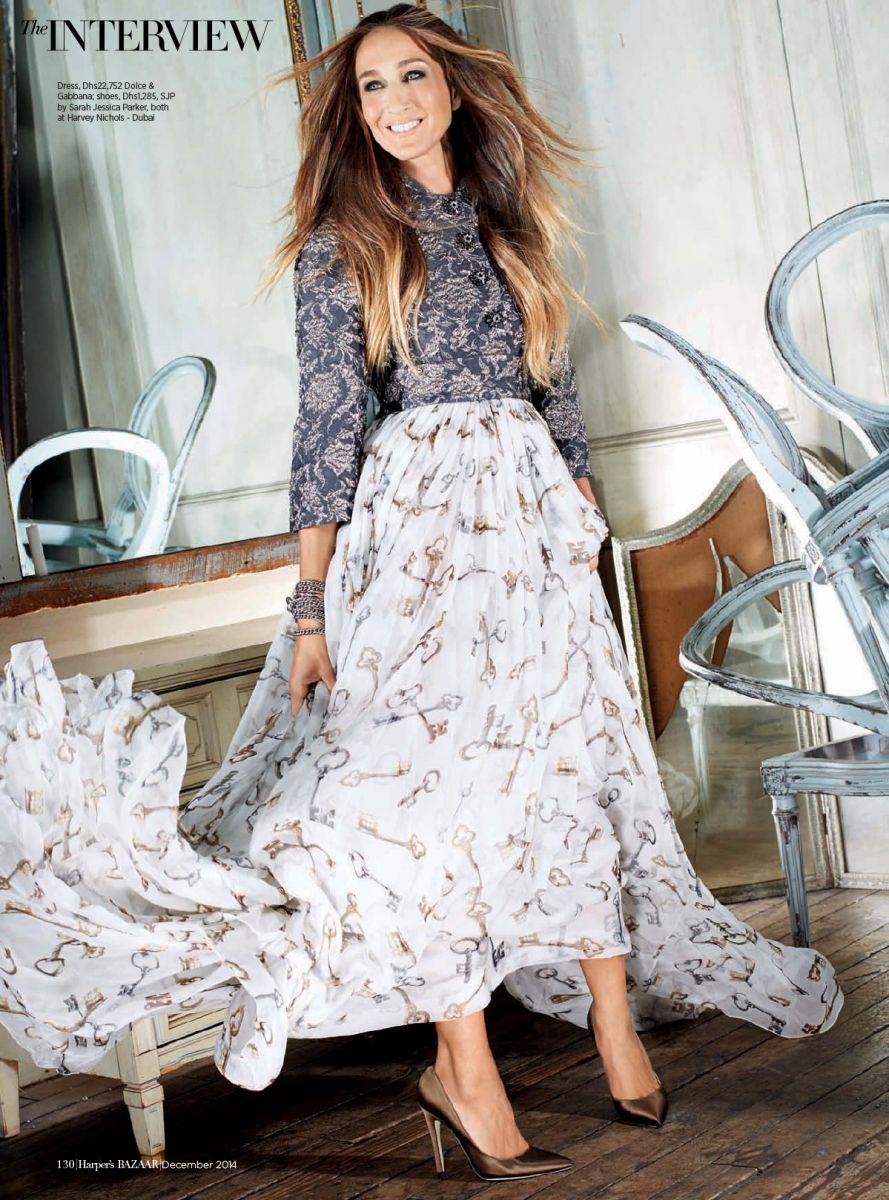Сара Джессика Паркер в новой стильной фотосессии