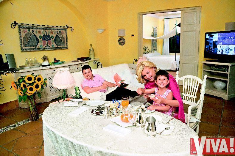 Владимир Зеленский жена и дочь фото