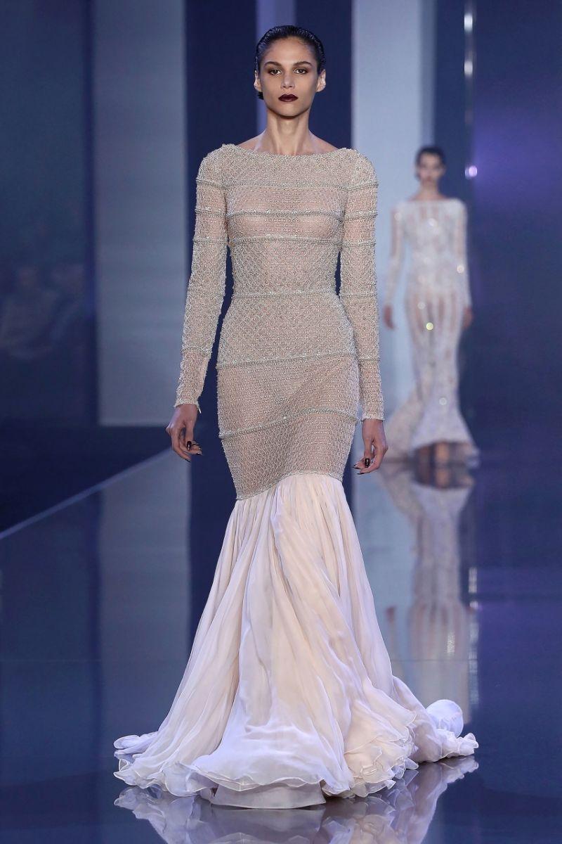 Ева Герцигова вышла в свет в роскошном подиумном платье