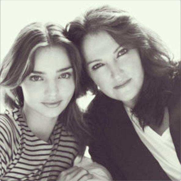 Миранда Керр с мамой Терезой