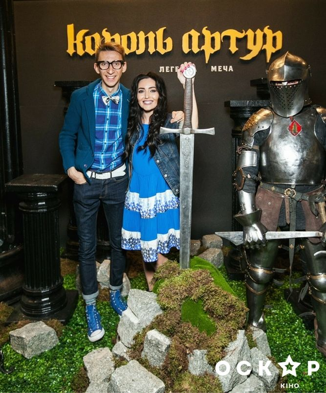Звезды на премьере фильма Король Артур
