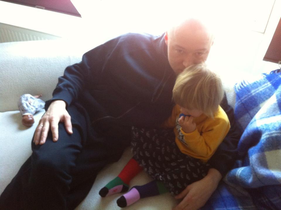Солист Бумбокс Андрей Хлывнюк впервые показал своих детей