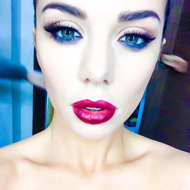 Анна Седокова макияж