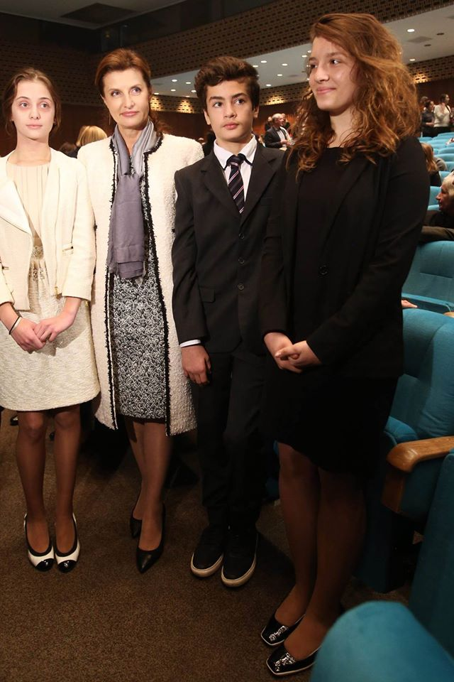 Жена и дети Петра Порошенко посетили премьеру балета The Great Gatsby