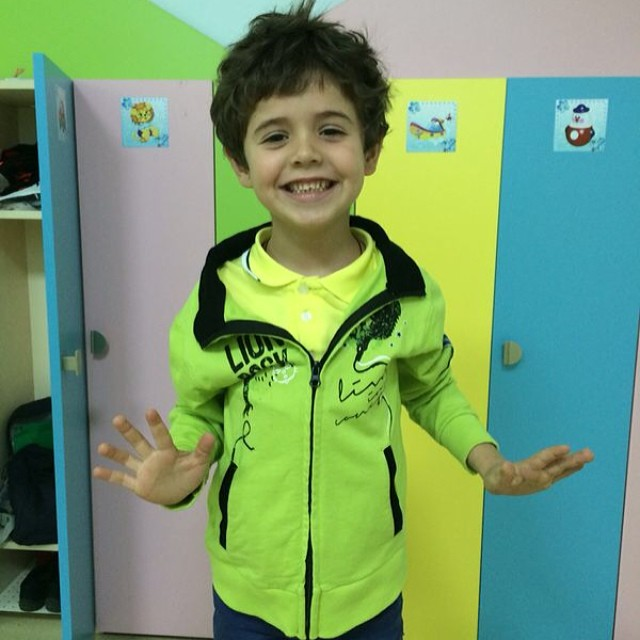 сын Санты Димопулос и Андрея Джеджулы