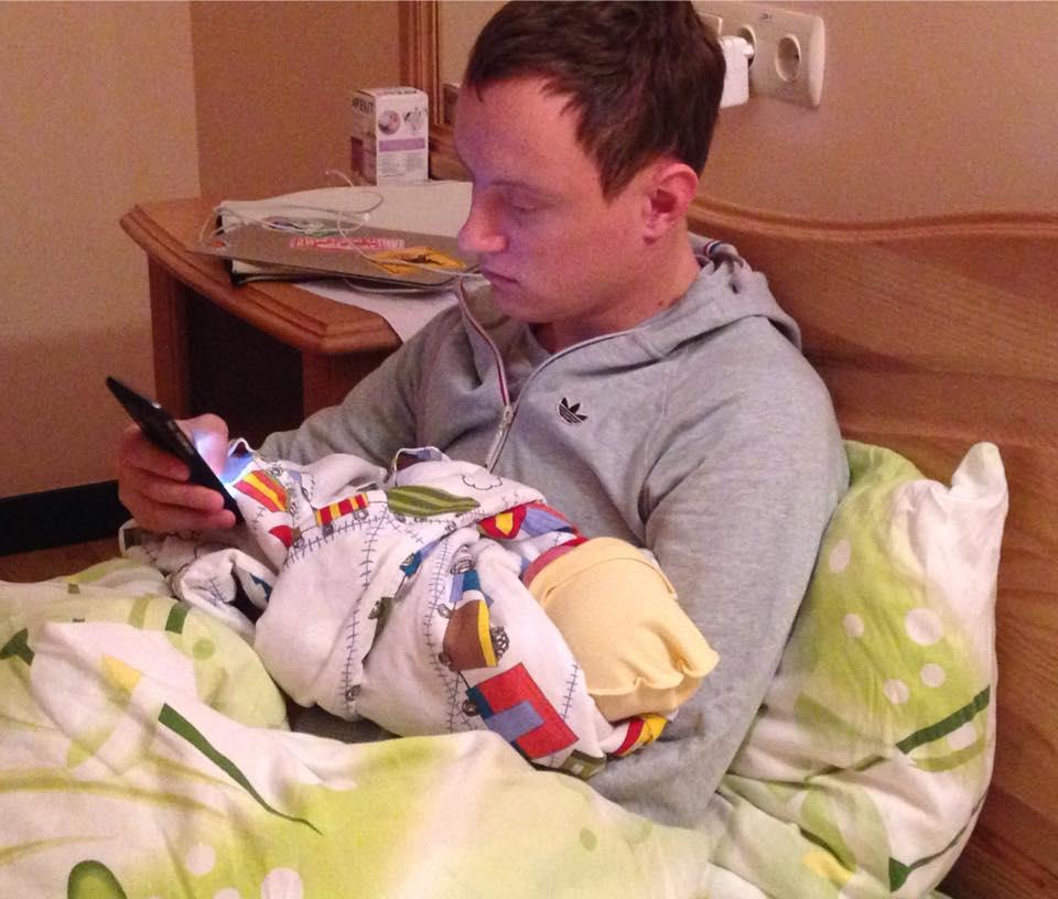 Молодая мама Наташа Гордиенко показала первое фото из роддома