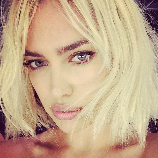 Ирина Шейк стала блондинкой