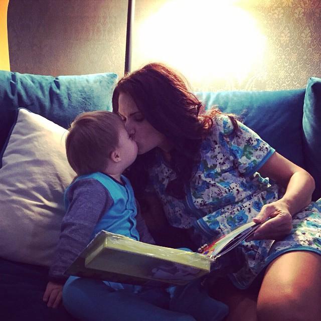 Дочь Виктории Бони подружилась с сыном Эвелины Бледанс
