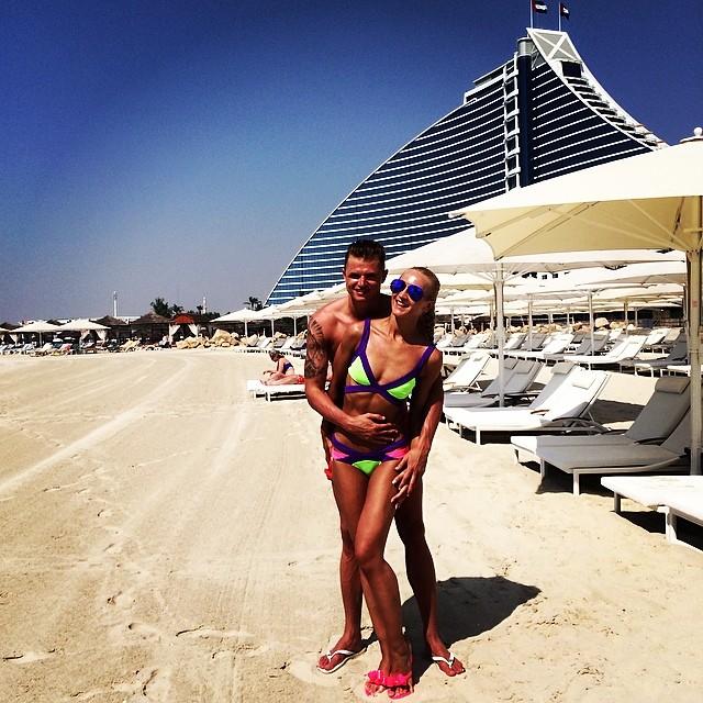 Ольга Бузова и муж Дмитрий Тарасов
