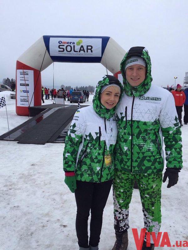 Наташа Гордиенко улетела к мужу в Швецию