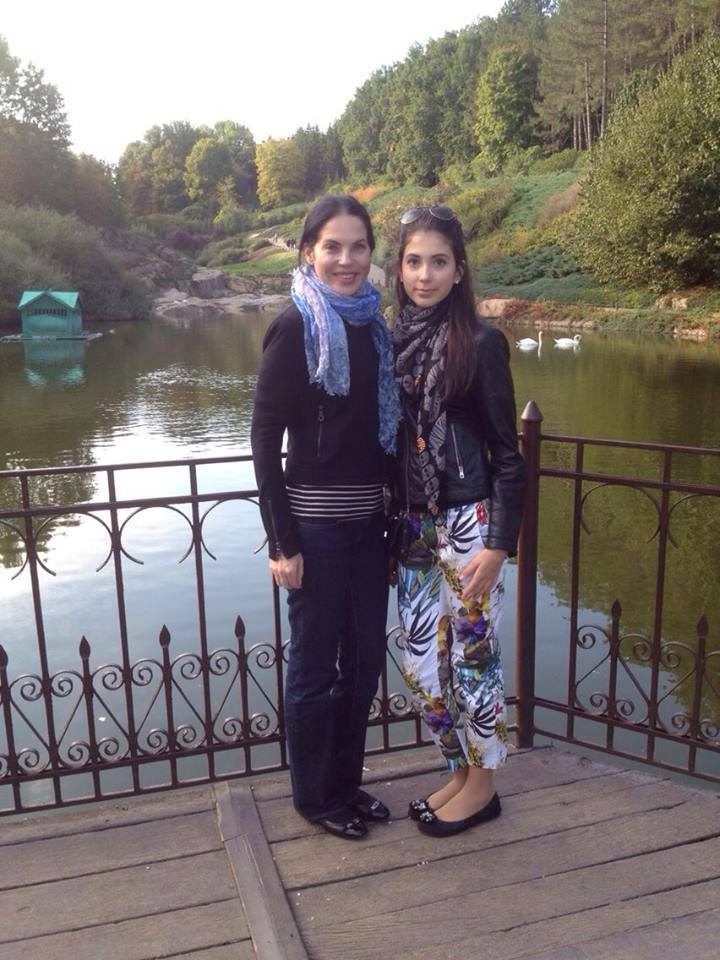 Влада Литовченко и ее дочь Кристина