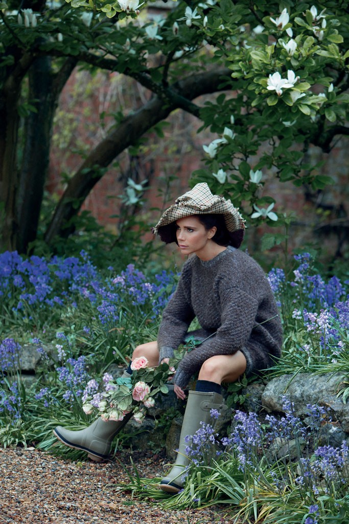 Виктория Бекхэм в новой фотосессии для Vogue