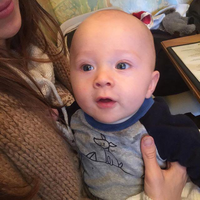 Алек Болдуин окрестил своего семимесячного сына