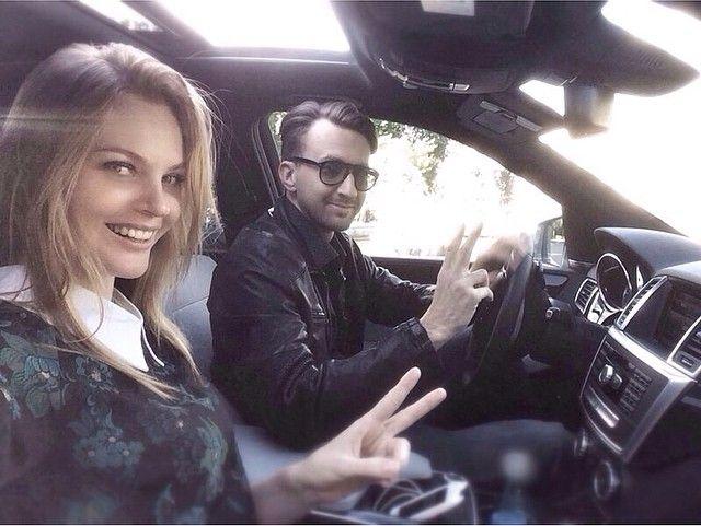Елена Кулецкая с женихом