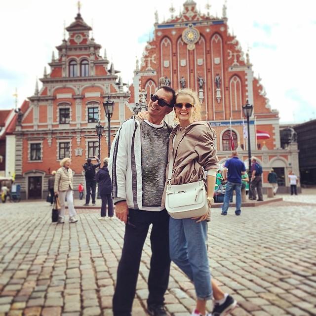 Инна Цимбалюк и друг семьи Александр Буйнов