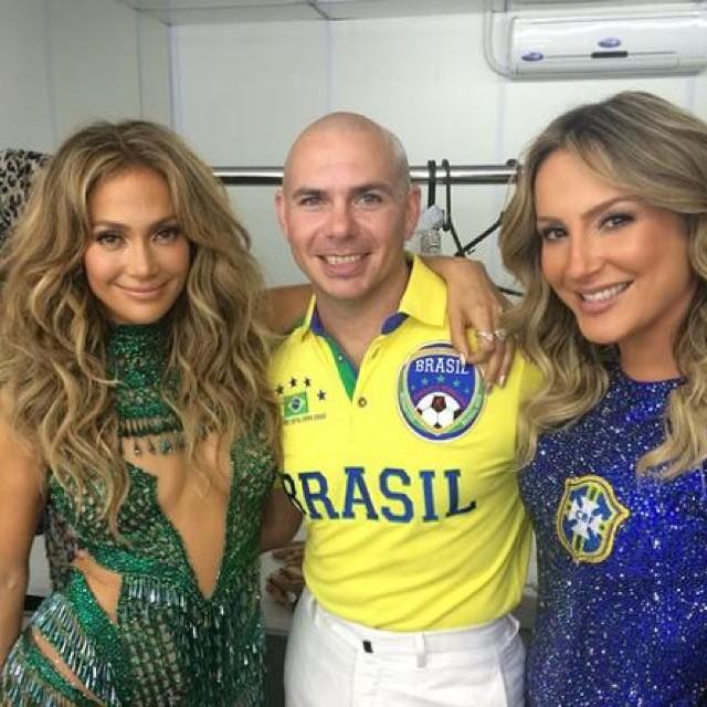 Дженнифер Лопес открыла Чемпионат мира по футболу-2014