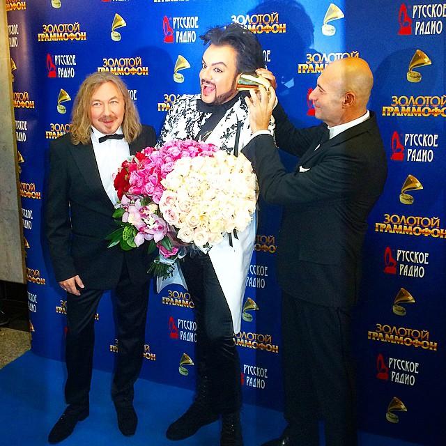 звезды в Москве на церемонии Золотой граммофон