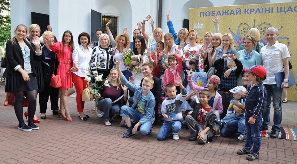 Анжелика Рудницкая провела акцию Дерево желаний