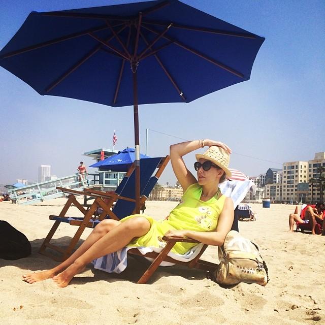 Ксения Собчак на отдыхе в США