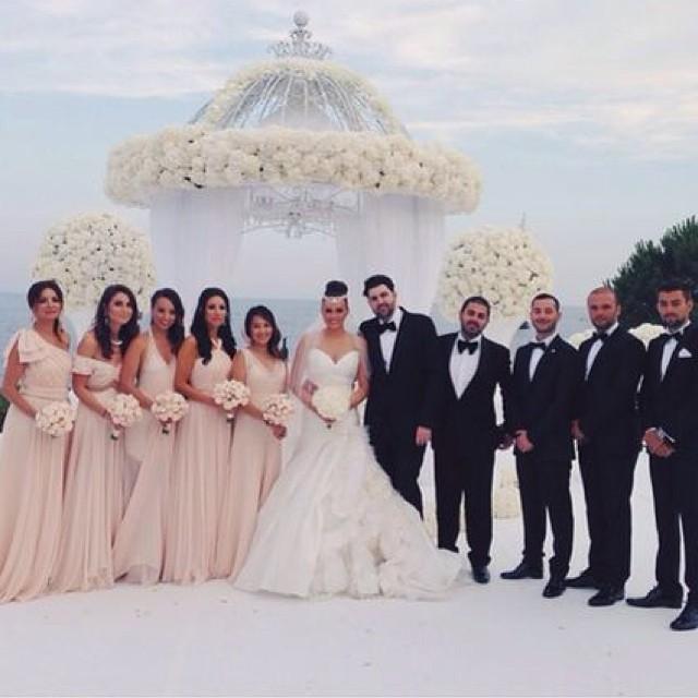 Игорь Крутой выдал дочь Викторию замуж. Свадебные фото