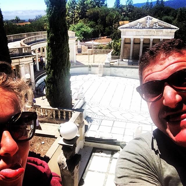 Ксения Собчак и ее муж Максим Виторган отдыхают в США