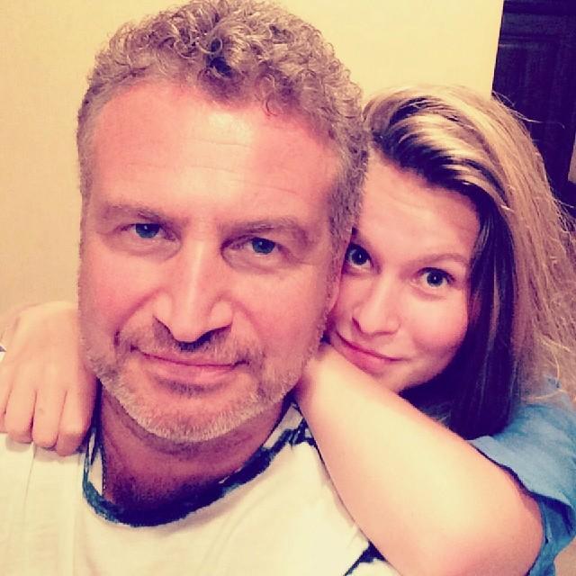 Леонид Агутин и его дочь