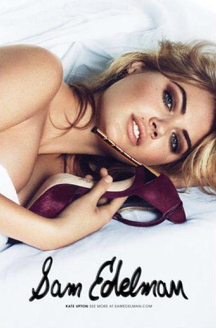 Кейт Аптон обнажилась для рекламы обуви