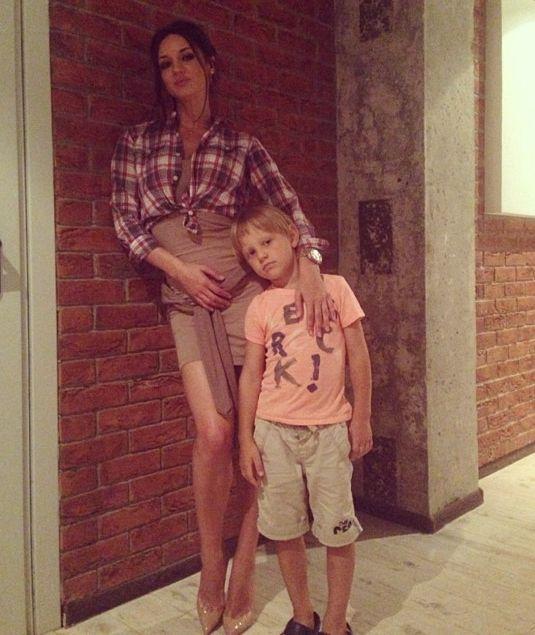 Татьяна Денисова показала своего очаровательного сына