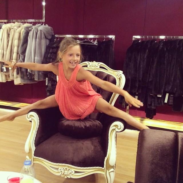 Дочь Анастасии Волочковой пошла по стопам матери