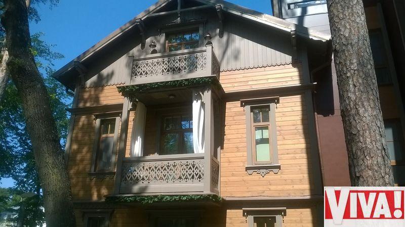 Алла Пугачева поселилась в эко-вилле в Юрмале