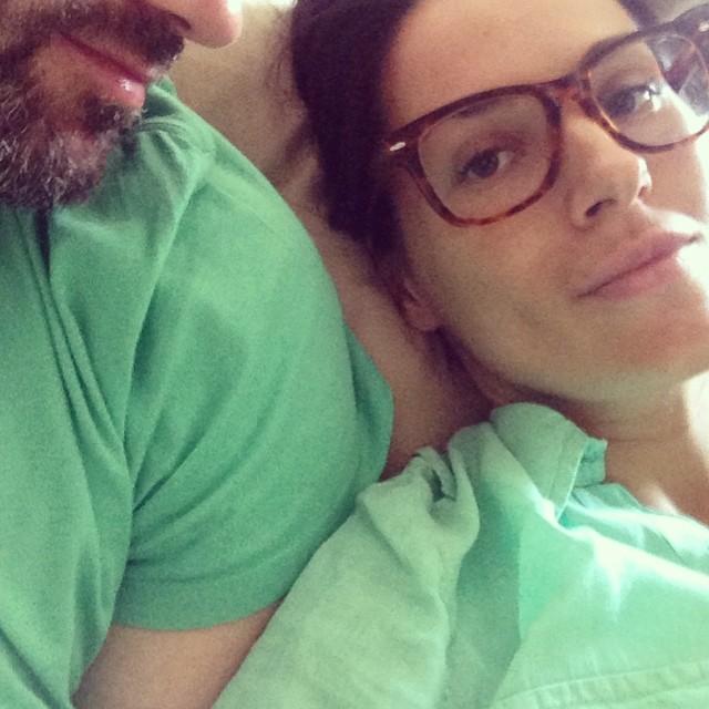 Беременная Маша Ефросинина готовится к родам